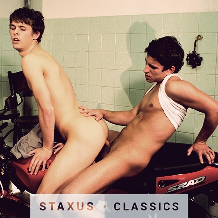Staxus Classic: Bareback Street Gang - Scene 1 - Remastered in HD